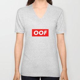 OOF Trendy Meme - Funny Slang Unisex V-Neck