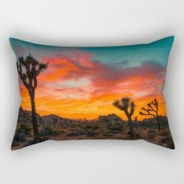 Joshua Tree Parc National Rectangular Pillow