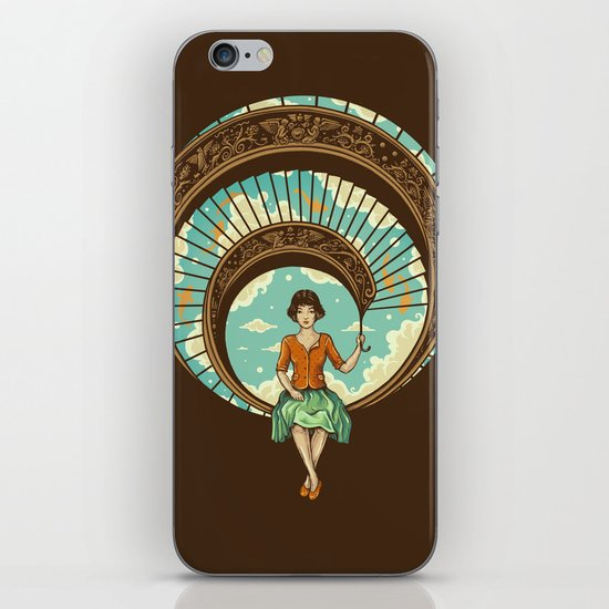 Welcome to My World iPhone & iPod Skin