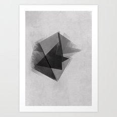Abstraction Process Art Print