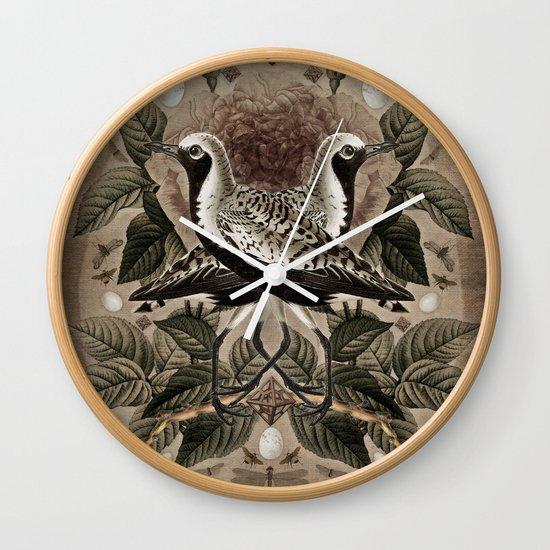 Pluvialis squatarola Wall Clock