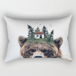 House Guardian Rectangular Pillow