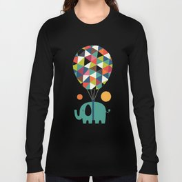 Fly High And Dream Big Long Sleeve T-shirt