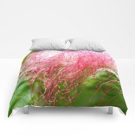 Pink Costa Rican Flower Comforters