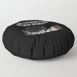 You Can Never Have Too Many Keyboards! Floor Pillow