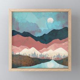 Fall Transition Framed Mini Art Print