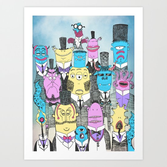 A Few Good Monsters Art Print