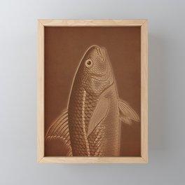 Piscibus 6 Framed Mini Art Print