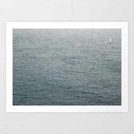 Lost Sailor Art Print