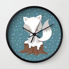 WINTERLAND FOX Wall Clock