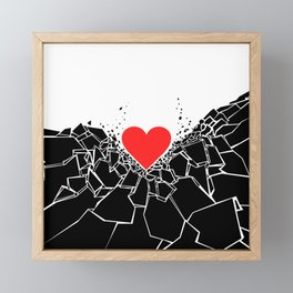 Heartbreaker II Framed Mini Art Print