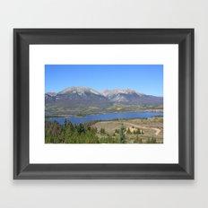 Dillon Reservoir Framed Art Print