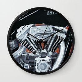 Harley Rider Wall Clock