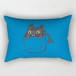 Pocket Toothless Rectangular Pillow