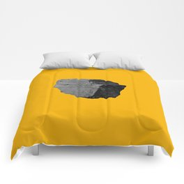 Yellow Boulder Comforters