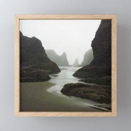 Isles Framed Mini Art Print