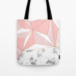 Marble & Geometry 042 Tote Bag