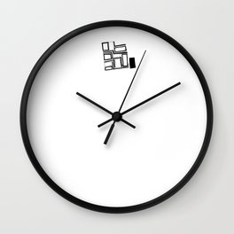 ADJE - SONG PORTRAIT Wall Clock