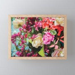 Bright Spring Florals Framed Mini Art Print