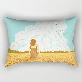 ROCKET LAUNCH Rectangular Pillow