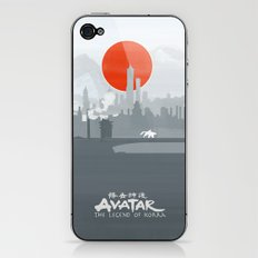 Avatar The Legend of Korra Poster iPhone & iPod Skin