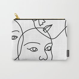 Surreal Faces Carry-All Pouch