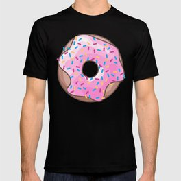 Pink Strawberry Donut T-shirt