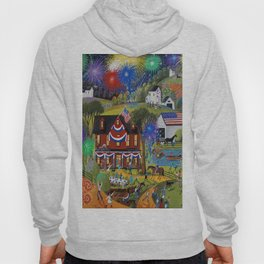 4th Of July At The Farm Hoody