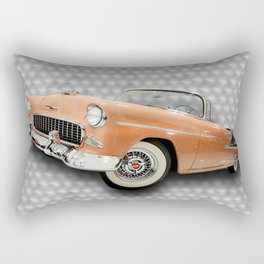 Happy Days with the Top Down Rectangular Pillow