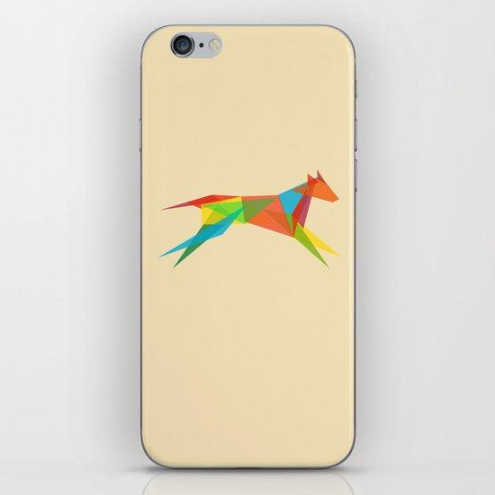 Fractal Geometric Dog iPhone & iPod Skin