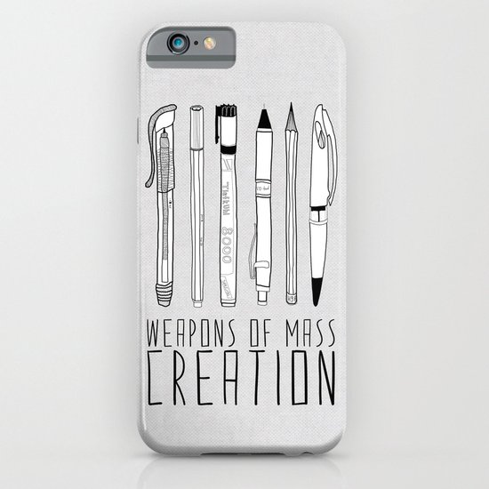 weapons of mass creation iPhone & iPod Case