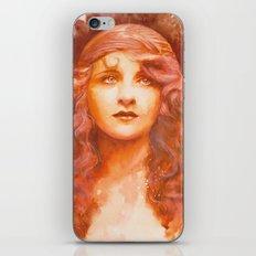 I wish you were here iPhone & iPod Skin