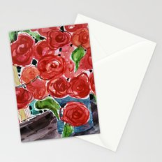 I love red Stationery Cards