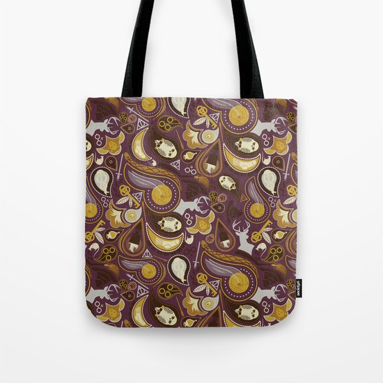 Potter Paisley Tote Bag
