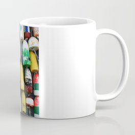 "Captured Photography Salt Series ""Buoys"" Coffee Mug"
