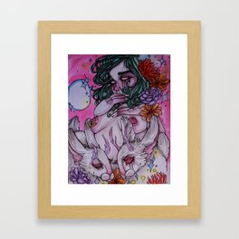 Unspoken Framed Art Print