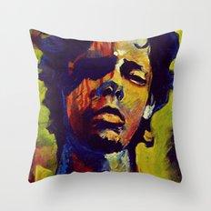 Portrait * Darren Le Gallo Throw Pillow