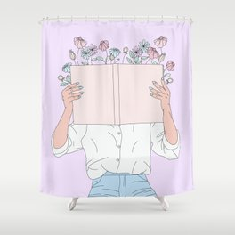 Read All About It Shower Curtain