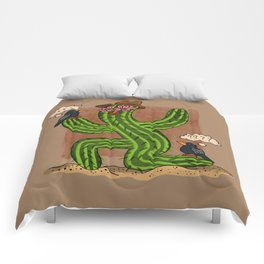 Cactus Lady and Friends Comforters