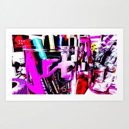 PopART Supplies Art Print