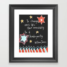 Flamboyantly  Framed Art Print