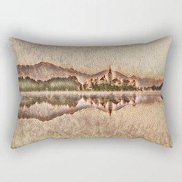 Mirrored Mosaics Rectangular Pillow