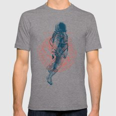 I need some space Mens Fitted Tee Tri-Grey MEDIUM