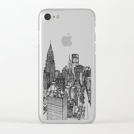 Historical City Clear iPhone Case