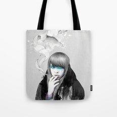Swan Love Tote Bag