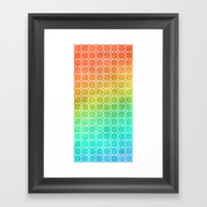 Rainbow Pattern #1 Framed Art Print