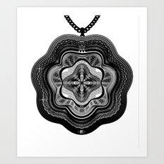 Spirobling XXI Art Print