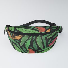 Palm Fronds and Chameleons I Fanny Pack
