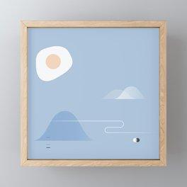 Eggcellent Framed Mini Art Print