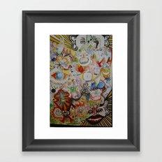 super skribb Framed Art Print